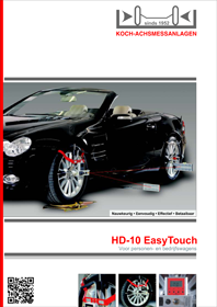HD 10 EasyTouch folder NL